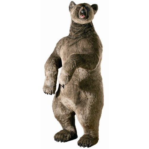 Hansa Toys Life Size Grizzly Bear Stuffed Animal