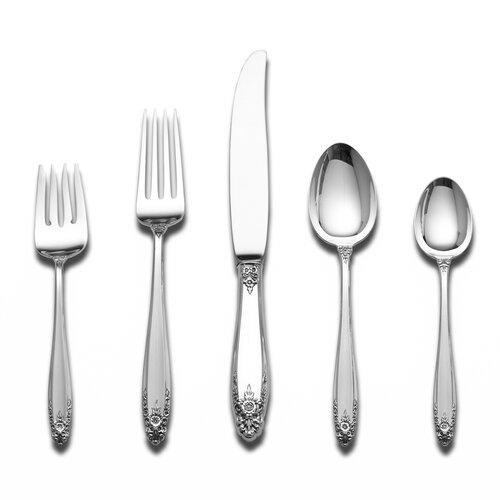 International Silver Sterling Silver Prelude 66 Piece Dinner Flatware Set