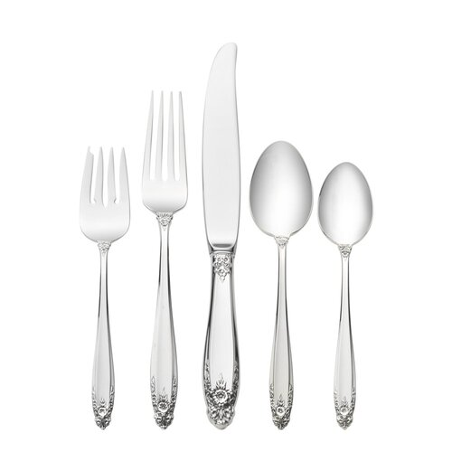 International Silver Sterling Silver Prelude 66 Piece Dinner Flatware Set