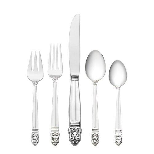 International Silver Sterling Silver Royal Danish 66 Piece Flatware Set