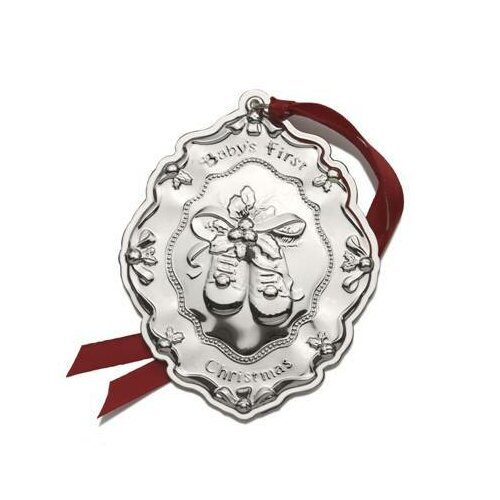 Towle Silversmiths Baby's First Christmas Ornament