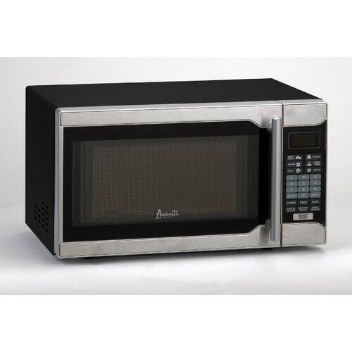 Avanti 0.7 Cu. Ft. 700W Countertop Microwave & Reviews Wayfair