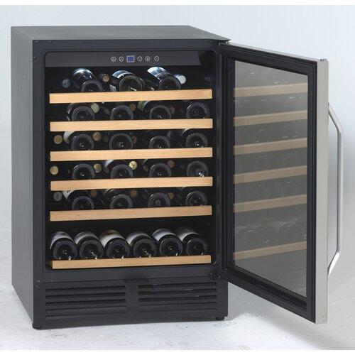 50 Bottle Single Zone Built-In Wine Refrigerator