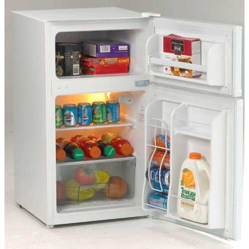 3.1 Cu. Ft. 2 Door Cycle Refrigerator