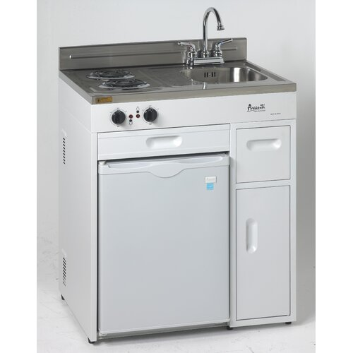 Complete Mini Kitchens: 2.2 Cu. Ft. Compact Refrigerator With Complete Kitchen