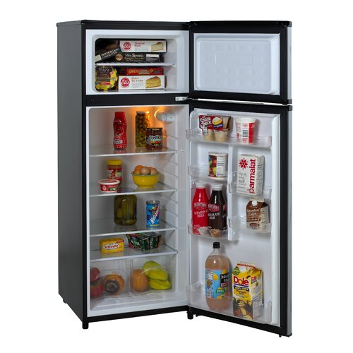 Apartment Fridge: 7.4 Cu. Ft. Apartment Refrigerator