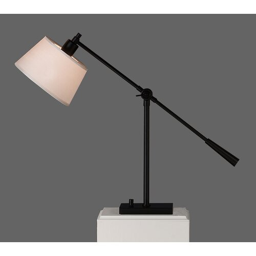 """Robert Abbey Real Simple Boom 23.5 """" H Table Lamp with Empire Shade"""