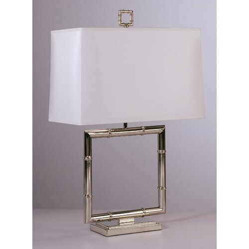 "Robert Abbey Jonathan Adler Meurice 26.75"" H Square Table Lamp"