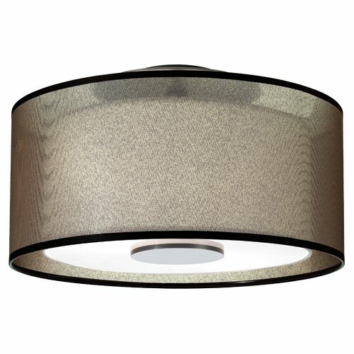 Robert Abbey Saturnia Semi Flush Mount