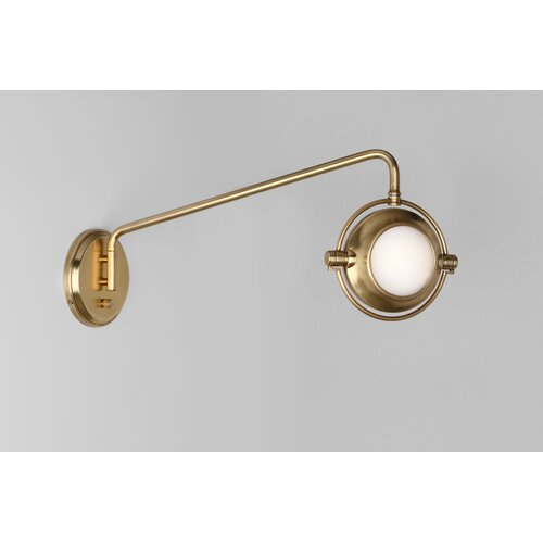 Robert Abbey Iris 1 Light Wall Sconce
