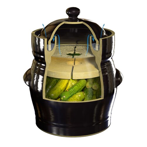 TSM Products Fermentation Crock