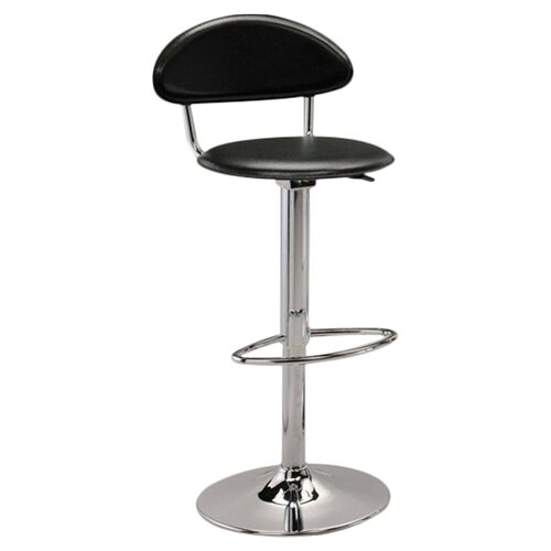 "Creative Images International 19.75"" Adjustable Swivel Bar Stool with Cushion"