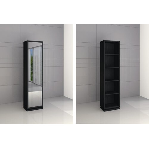 """Creative Images International Spinning Curio 72"""" Bookcase"""