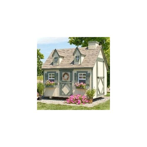 Cape Cod Small Playhouse Kit with Floor