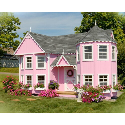 Sara's Victorian Mansion Playhouse Kit with Floor