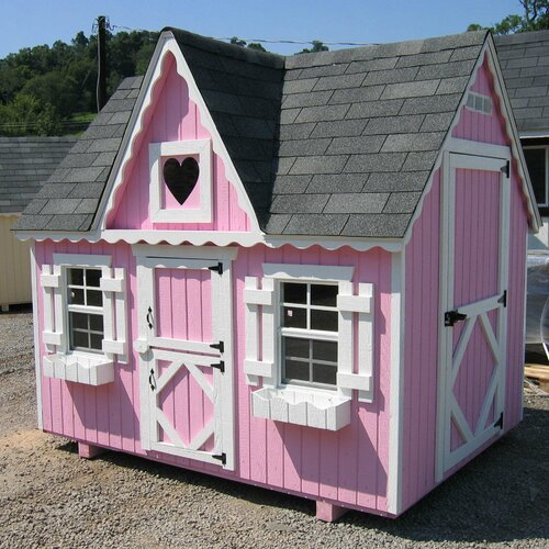 Little Cottage Company Victorian Playhouse Small Kit with Floor