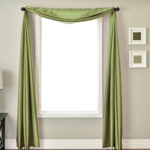 Softline Home Fashions Bella Kids 6 Yard Single Window Scarf