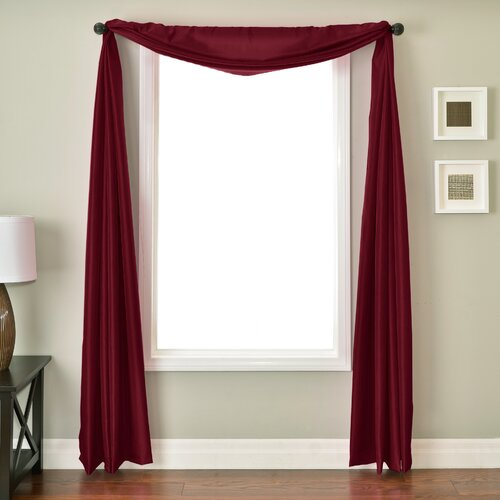 Softline Home Fashions Bella 6 Yard Single Window Scarf