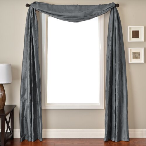 Softline Home Fashions Lula 6 Yard Single Window Scarf