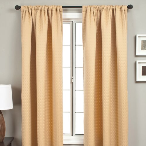 Softline Home Fashions Morin Rod Pocket Curtain Single Panel