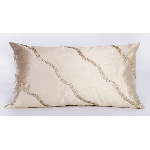 Bling Silk Diamond Rhinestone Rectangular Pillow
