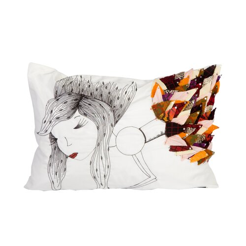 Sea Side Woman Pillow