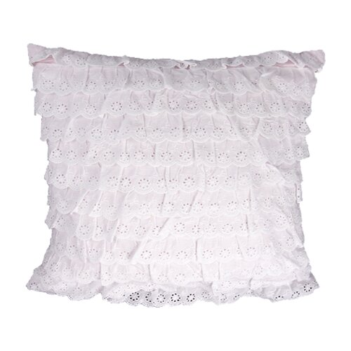 HiEnd Accents Paisley Polyester Pillow with Eyelets
