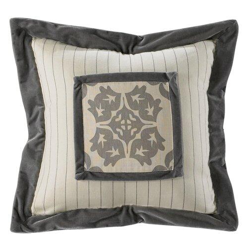 Kerrington Stripe Embroidery Pillow