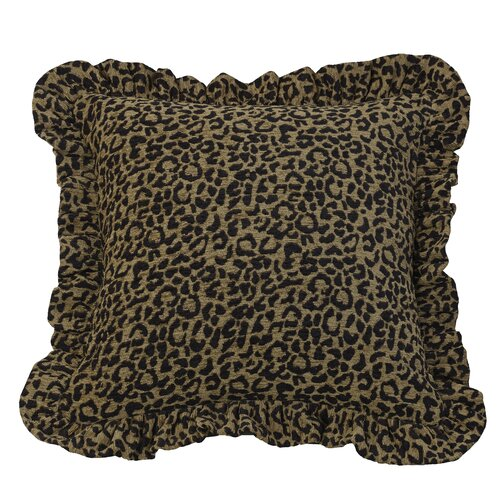 San Angelo Cheetah Print Pillow