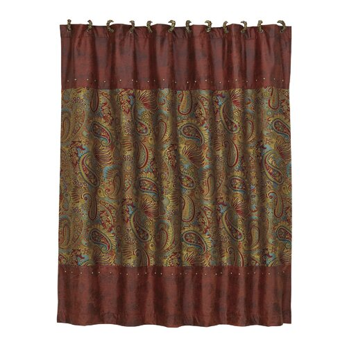 San Angelo Polyester Shower Curtain