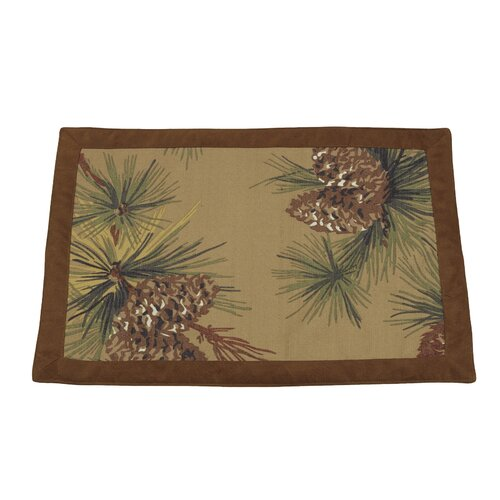 Crestwood Pinecone Placemat (Set of 4)