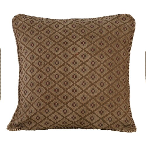 HiEnd Accents Moose Polyester Pillow