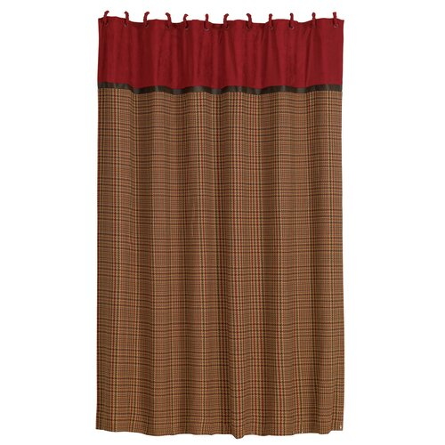 HiEnd Accents Tahoe Polyester Shower Curtain