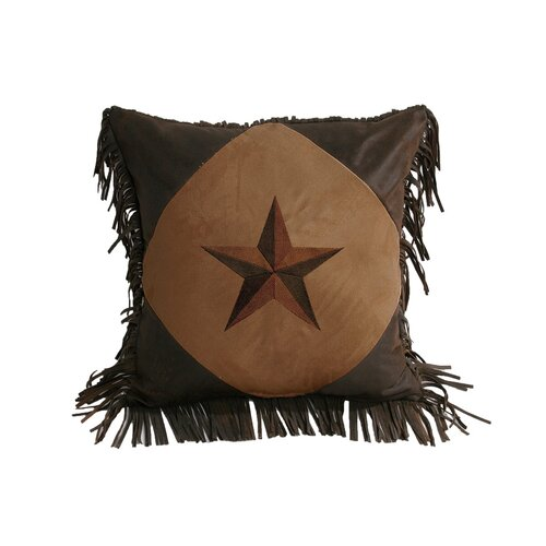 Laredo Diamond Star Polyester Pillow
