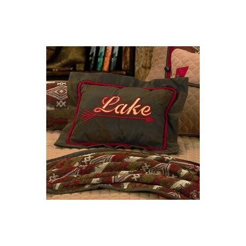 HiEnd Accents Tahoe Lake Polyester Pillow