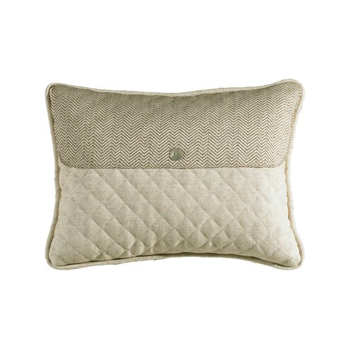 HiEnd Accents Fairfield Quilted Linen Envelope Pillow