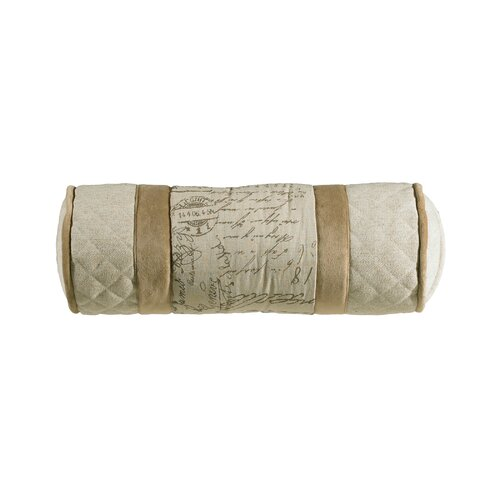 Fairfield Linen / Velvet Neckroll Pillow