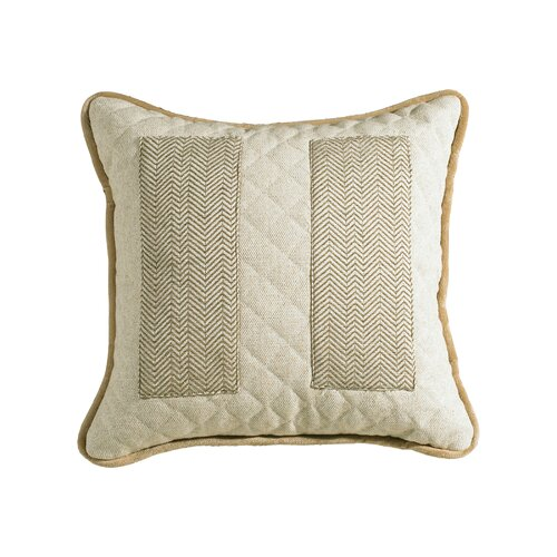 Fairfield Quilted Linen Pillow