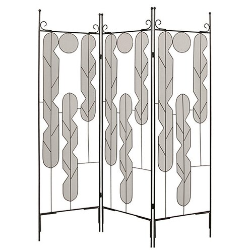 "Screen Gems 73"" x 58' Art Screen 3 Panel Room Divider"
