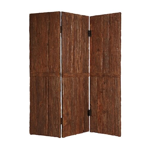"Screen Gems 85"" x 72"" Tahoe Screen 3 Panel Room Divider"