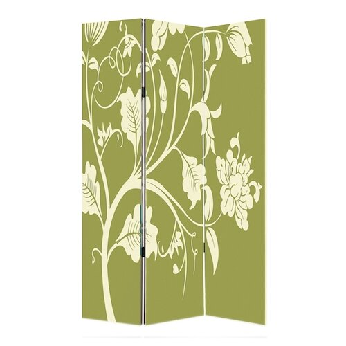 "Screen Gems 73"" x 48"" Avery Screen 3 Panel Room Divider"