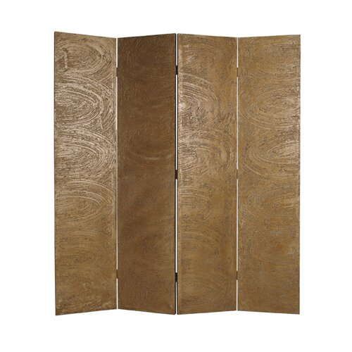 "Screen Gems 73"" x 48"" Barreta Screen 4 Panel Room Divider"