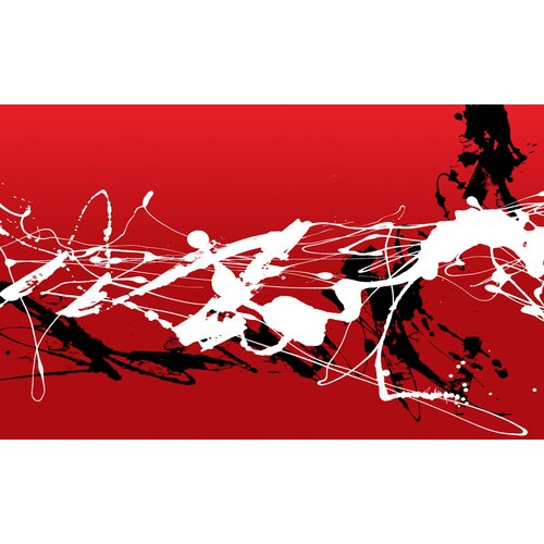 Abstract VI Painting Print on Canvas