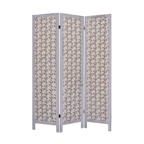 "Screen Gems 67"" x 52"" Tarbert 3 Panel Room Divider"