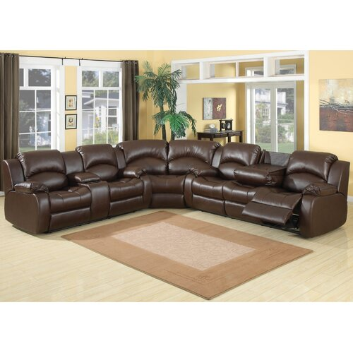 AC Pacific Samara Reclining Sectional