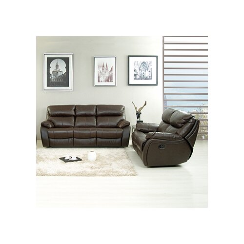 AC Pacific Jonathan Sofa and Loveseat Set