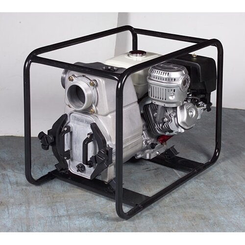 Tsurumi 360 GPM Honda Engine Driven Trash Pump with Low Oil Sensor