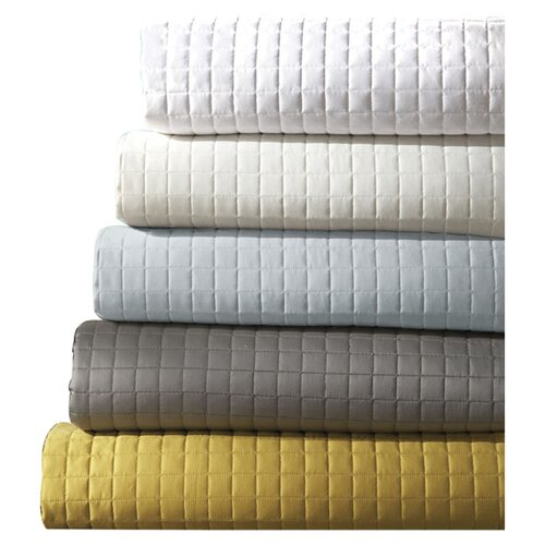DownTown Company Urban Egyptian Cotton Quilted Coverlet