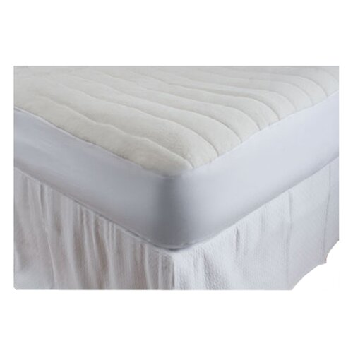 DownTown Company Luxurious Comfort Cotton Blend Mattress Pad