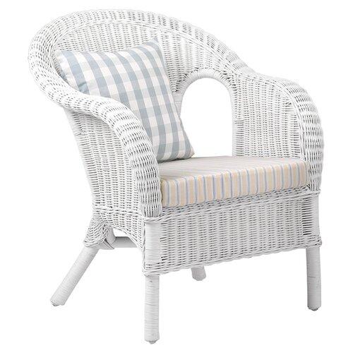 House additions jasper rattan armchair in white amp reviews wayfair uk
